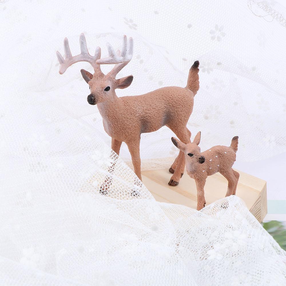 WeRChristmas Set of 4 Reindeer Napkin Holders 7cm Multi-Colour