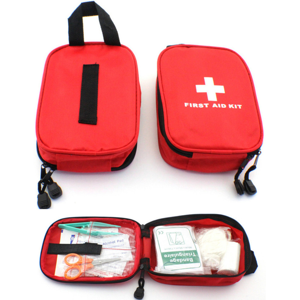 Portable First Aid Kit Bag Home Emergency Medical Rescue Case Box BB55|Safety & Survival| |  - title=