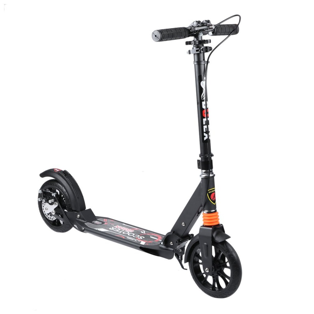 Height Adjustable Adults Urban Young People Folding Scooter Play Two Wheels Kick Scooter Great Gift cool 350w 8 inch electric scooter adjustable height led headlight folding travel tools adults kids toys for gift dropshipping