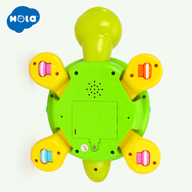 Cute Smart Turtle – Battery-Powered Educational Toy in English and Spanish