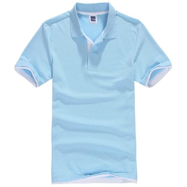 Новый мужской Рубашки Поло Мужчин Хлопка С Коротким Рукавом рубашки sportspolo майки camisa Поло golftennis Плюс Размер XS-3XL homme