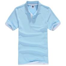 Новый мужской Рубашки Поло Мужчин Хлопка С Коротким Рукавом рубашки sportspolo майки camisa Поло golftennis Плюс Размер XS-3XL homme()