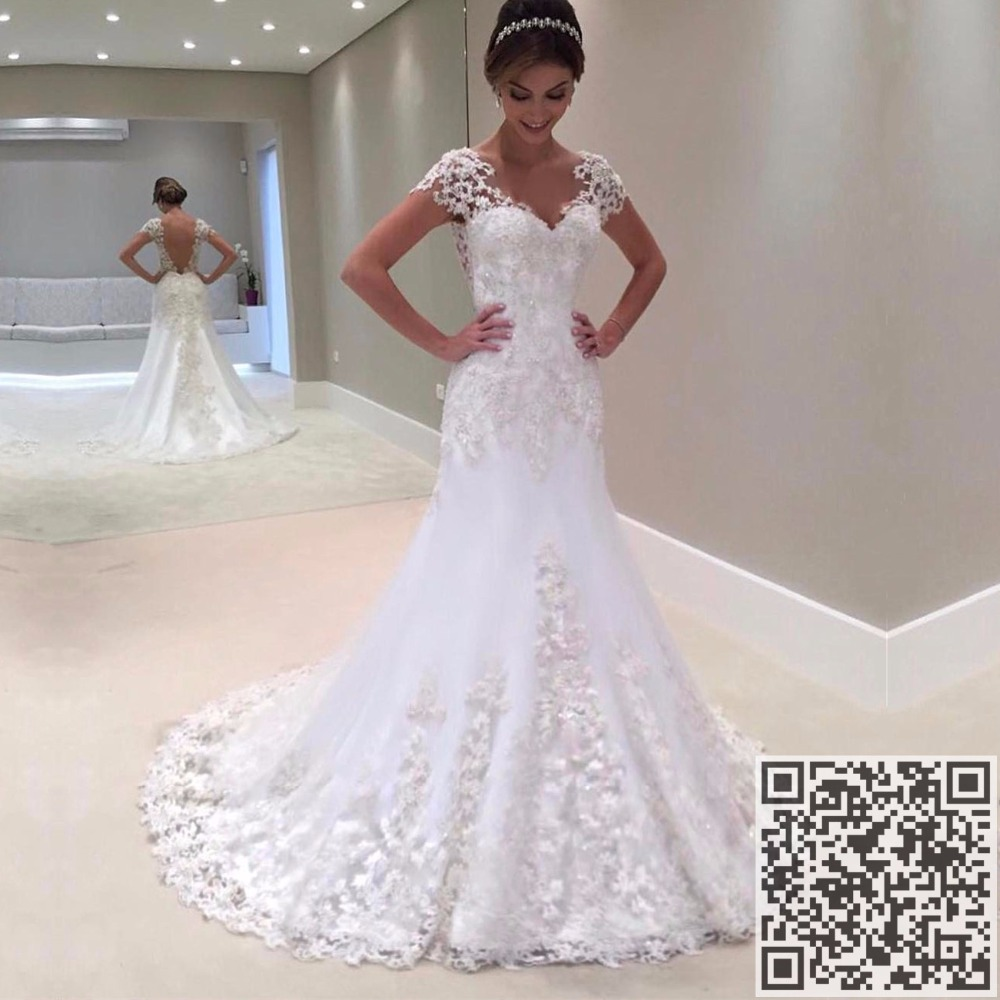 Buy neckline lace mermaid wedding dresses for Where to buy yasmine yeya wedding dresses