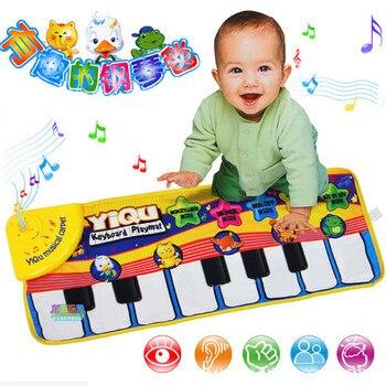 Baby Music Carpet Baby Music Mat Educational Baby Kid Child Piano Music Plat Mat 72*29cm