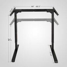 Электрический регулируемый по высоте стоящий стол рама двойной мотор и память управления Большой коммерческий