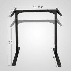 Новый Электрический регулируемый по высоте стоящий стол рама двойной мотор и память управления Большой коммерческий