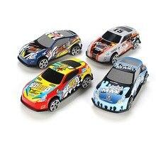 6 ชิ้น/เซ็ตการ์ตูน MINI รถชุดของเล่นแม่พิมพ์โลหะผสมรถยนต์ Diecast เด็กกระเป๋าของเล่นเด็กของขวัญ