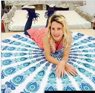 CAMMITEVER indyjska tapeta w stylu boho Totem ścienne wiszące ręczniki plażowe mata do jogi koc materac kempingowy osłona do bikini