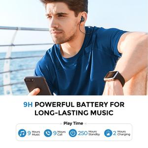 Image 3 - Mpow S11 APTX Bluetooth 5.0 Earphone Magnetic Design IPX7 Wateproof 9H Playing Time CVC6.0 Noise Reduction For Sports SmartPhone