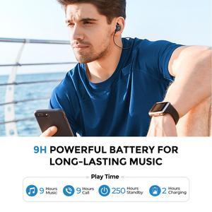 Image 3 - Mpow S11 APTX Bluetooth 5,0 Kopfhörer Magnetische Design IPX7 Wateproof 9H Spielen Zeit CVC 6,0 Noise Reduktion Für Sport smartPhone