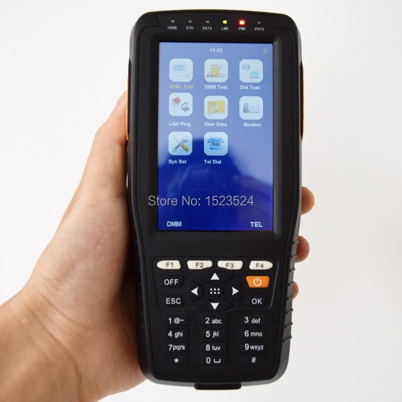 Livraison Gratuite TM-600 VDSL VDSL2 Testeur ADSL WAN & LAN Testeur xDSL Test Equipment avec TDR Fonction