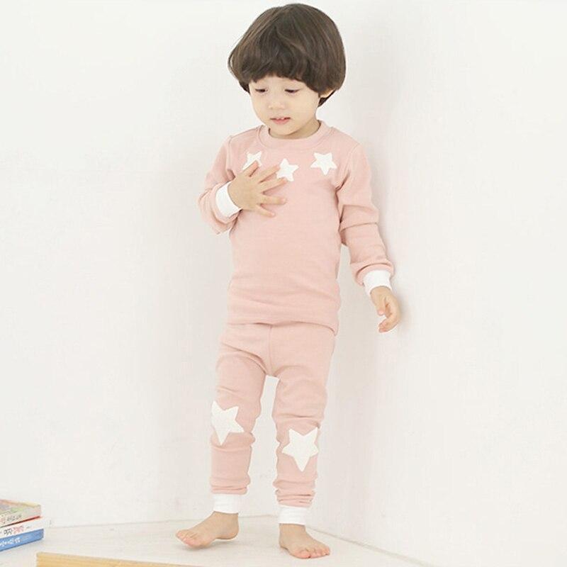 Dzieci Bielizna nocna Casual Cartoon wzór ubrania dla dziewczynek - Ubrania dziecięce - Zdjęcie 4