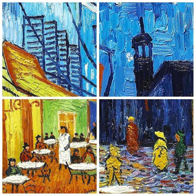 Online Shop Cafe Modern Impressionism Famous Artist Vincent Van ...