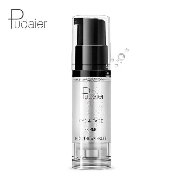 Pudaier Face Primer Makeup 8ml Liquid Smooth Fine Lines Oil-control Brighten Eye Primer Eye Shadow Foundation Facial Makeup Base