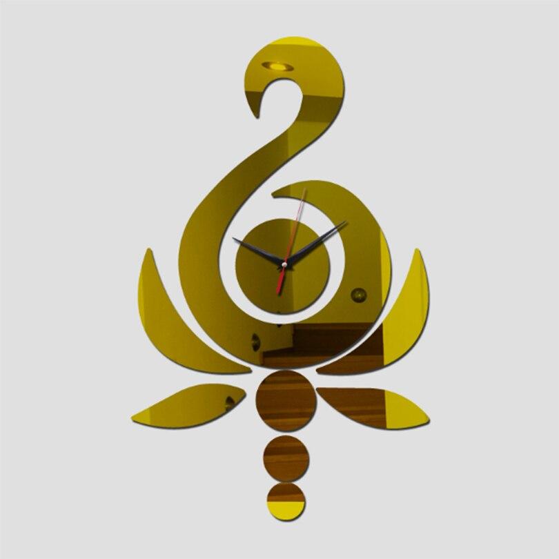 3D Mirror Wall Clocks DIY Crystal Watch Wall Clocks Home Decoration On Living Room , Horloge Mural Art Safe Gift