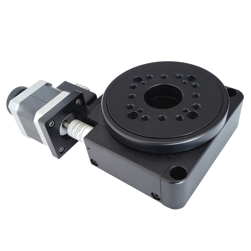 Elektrische Roterende Machine Optische Roterende Platform Gemotoriseerde Rotatie Stage 100 Mm Lager Schaal PX110 100 Y - 3