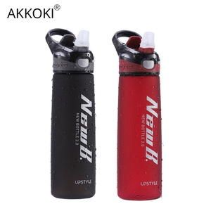 Image 3 - 750/600ML Whey Protein Powder Sport Shaker Bottle For Water Bottles With Straw Outdoor Travel Portable Drinkware Tritan Plastic