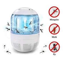 Ingeademd LED photocatalyst muggen killer Muggen Killer Licht 5 W Smart Optisch Gecontroleerde Insect Doden Lamp @ 16(China)