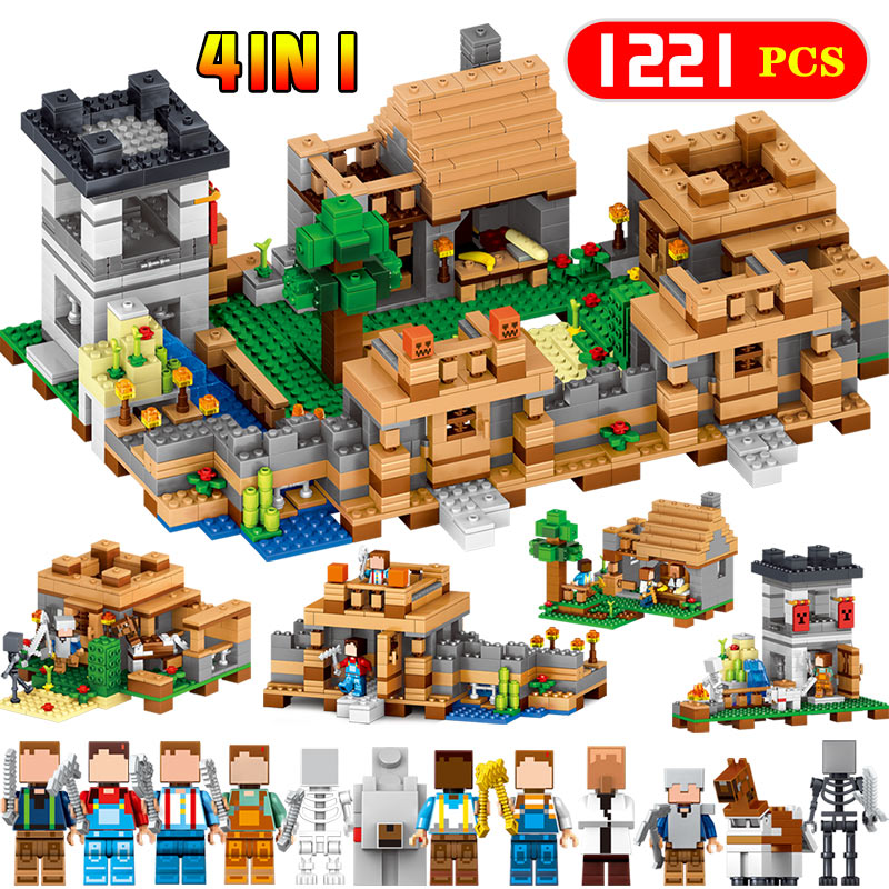 Building Blocks Educational For Dreamland My World Castle style Clever Construction LegoINGlys Toys Compatible Minecrafter lele my world power morse train building blocks kits classic educational children toys compatible legoinglys minecrafter 541 pcs