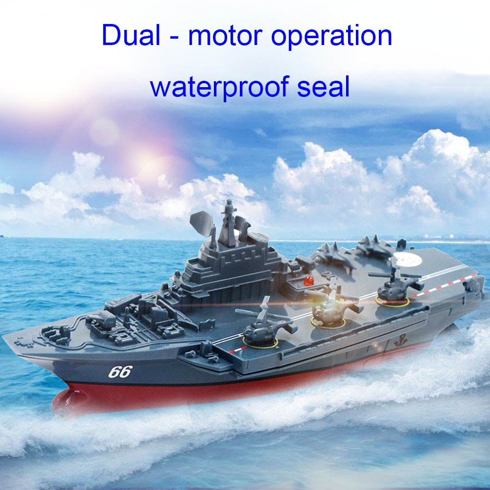 2.4GHz RC Radio Remote Control Navy Aircraft Ship Boat Warship Gift Toy M09