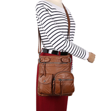 Brand High Quality Small Messenger Bags Women Very Soft Wash