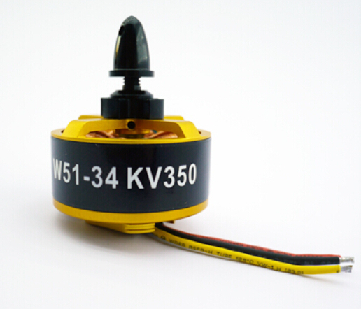 HL W51-34 350KV Outrunner Brushless Disk Type Motor for FPV Quadcopter Multi-rotor (6S, 3Kg) tarot brushless motor 4008mt 330kv 4006mt 320kv 6s for multi rotor copter 650 680 690 750 uav phantom fpv tl2955 tl29554