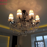 antique glass chandeliers Loft Creative Personality Industrial Lamp Edison Bulb American Style For Living Room chandelier