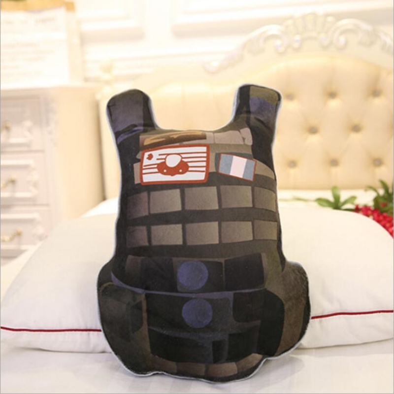 Game PUBG Fashion PLAYERUNKNOWN BATTLE 4 styles Drinks/ First aid kit Bulletproof vests/Anodyne Cushion Doll Figure Eat Chicken image