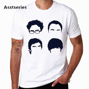 Teoria wielkiego podrywu Sheldon Penny męska koszulka letnia koszulka z krótkim rękawem moda nowa męska koszulka HCP4564 tanie i dobre opinie CN (pochodzenie) O-neck tops Tees Regular Suknem Poliester Na co dzień Drukuj Fashion