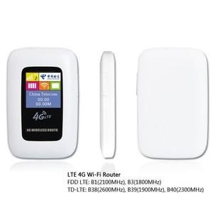 Image 5 - סמארטפון 2100 mAh 3G/4G WIFI נתב 100 Mbps נייד Wifi Hotspot כיס חיצוני נסיעות נתב אלחוטי עם כרטיס ה SIM חריץ