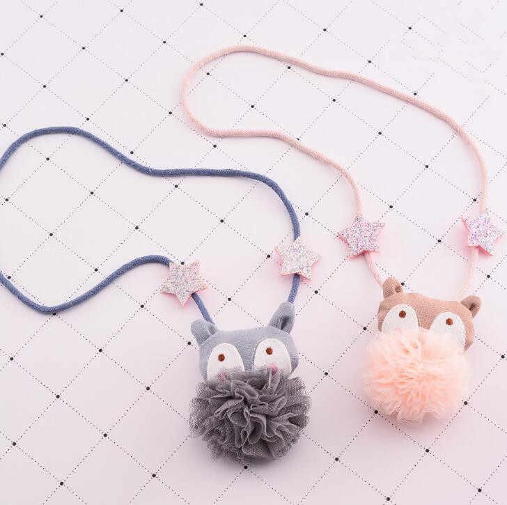 Fashion Korean Handmade Cute Fox Necklace Cartoon Style Christmas Gift Birthday Kids Baby Girls Gifts