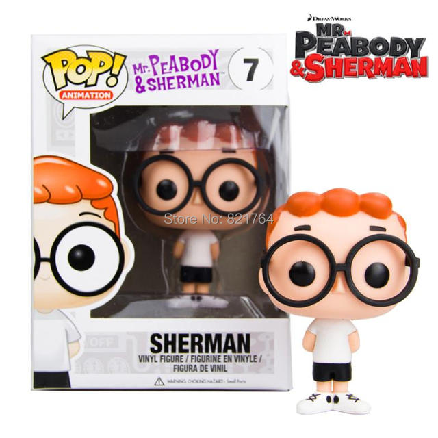 2015 Mew Genuine Funko Pop Mr Peabody Sherman Rocky Bullwinkle
