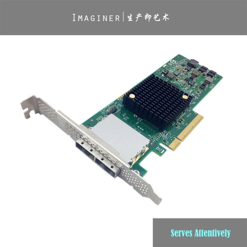 LSI00300 LSI 9207 8E 6Gb s Extelnal PCI Express 3 0 X8 Low Profile SATA SAS