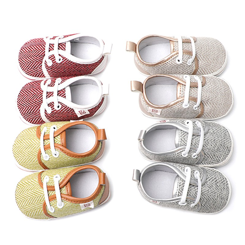 First Walker Baby Kids Casual Shoes Newborn Soft Non-slip Breathable Toddler Shoes Fashion For 6-18M