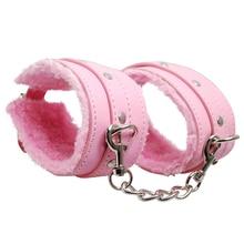 7 PCs PU Leather Handcuffs Whip Collar Bondage Restraint