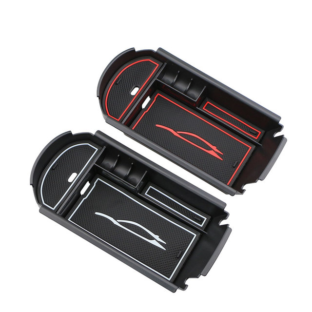 Carmilla ABS Car Central Armrest Box Storage Stowing Tidying for Toyota C-HR CHR 2016 2017 2018 Interior Accessories