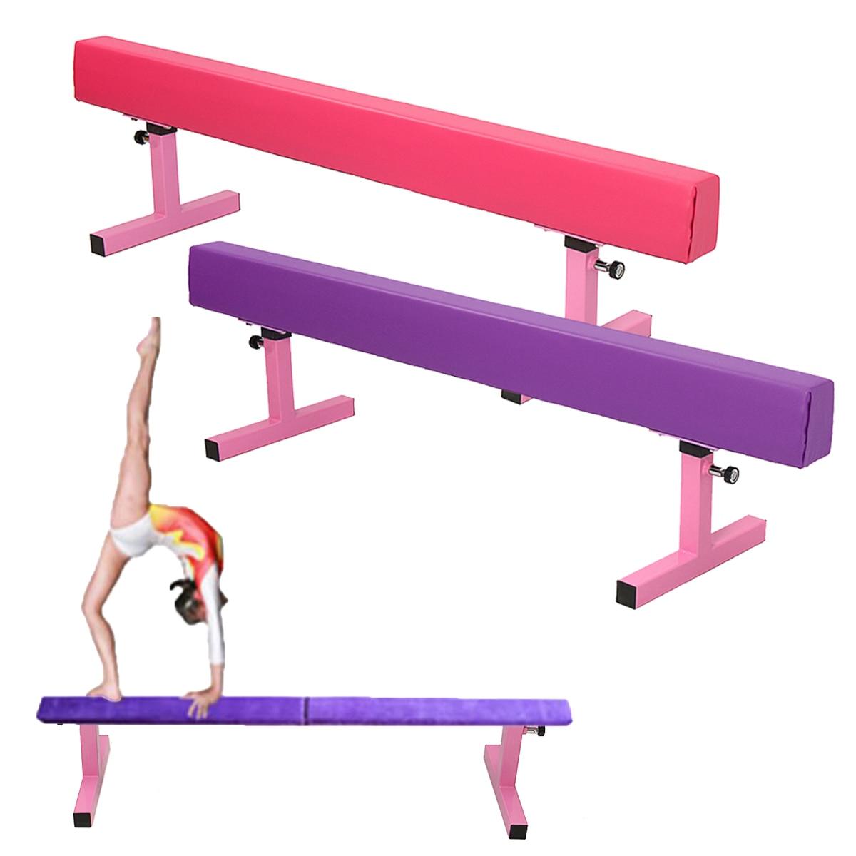 Gymnastics Balance Beam Gymnastics Cushion 1.8M 6ft High Home Gym Fitness Training Tool Training Equipment primary gymnastics
