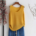 Plus Size New Arrival Women's Vest stripes knitting sexy Cotton Slim Vest Tops Tank Camis XX069