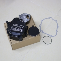 Motorcycle Left Stator Engine Cover For Suzuki GSX R GSXR 600 750 2006 2007 2008 2009 2010 2011 2012 K6 K8 Aluminum Crankcase