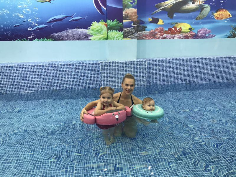Baby Swimming Ring Solid No Inflatable Safety For accessories floating Floats Swimming Pool Toys (18)