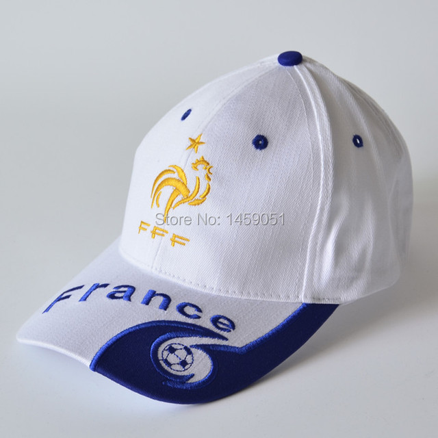 Free shipping high quality 100% cotton football soccer team France cap  baseball cap bb3865ee72d