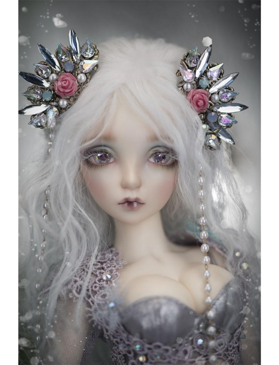 цены AQK 1/4 BJD/SD doll Sia mermaid human body Free eyes