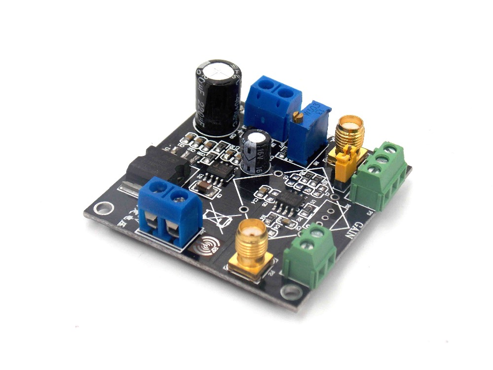The instrument amplifier AD620 amplifier module small signal voltage MV microvolt single ended or differentialThe instrument amplifier AD620 amplifier module small signal voltage MV microvolt single ended or differential