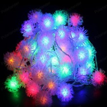 4M 20 LED Snowflake Garden Home New Year LED Christmas Decoration Lamp Outdoor String Holiday Light colorful decoration light