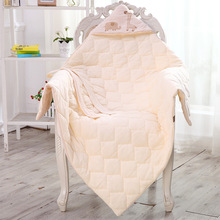 BB0071 Natural Colored Cotton Baby blankets newborn winter super soft baby blanket  swaddle wrap comfortable