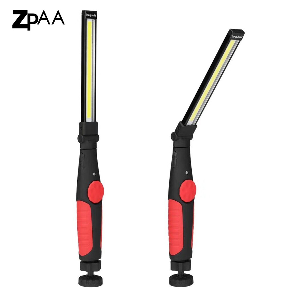Rechargeable Work Light Inspection Light USB LED Work Lamp COB Portable Super Bright Camping LED Flashlight with Magnetic Base brightinwd super bright portable flashlight torch 36 5 led flexible hand torch work light magnetic inspection lamp