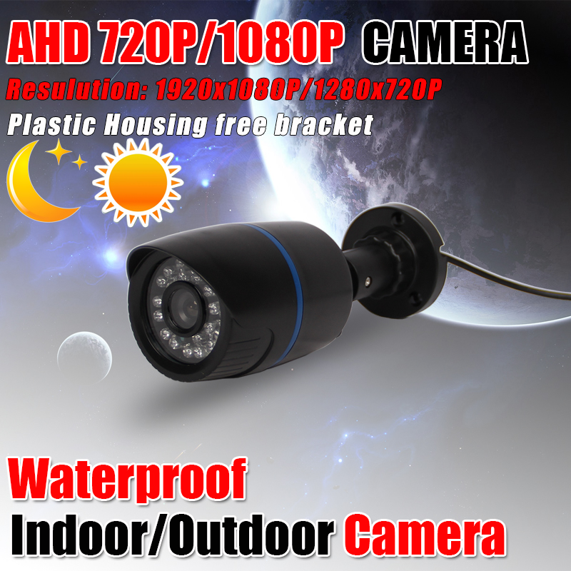 bilder für Cctv-kamera CMOS Sensor 2000TVL IR-Cut-Filter AHD Kamera 720 P/1080 P Indoor/Outdoor Wasserdicht 1080 P 3,6mm Objektiv Überwachungskamera