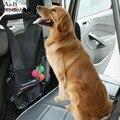 Asiento Trasero Del Coche en general Impermeable Pet Dog Barrera con Hebilla Ajustable y Bolsillo