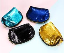 Women Fashion Sequins Handbags Europe and America Shell Clutch Bag Cosmetic Storage Mermaid Sequin Evening Party