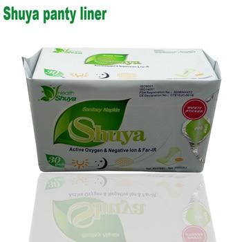 Anion pads sanitary napkin women health care Shuya anion sanitary pads menstrual period feminine hygiene 30piece=1 pack/lot love 1